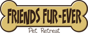 Friends Fur-Ever Pet Retreat Logo